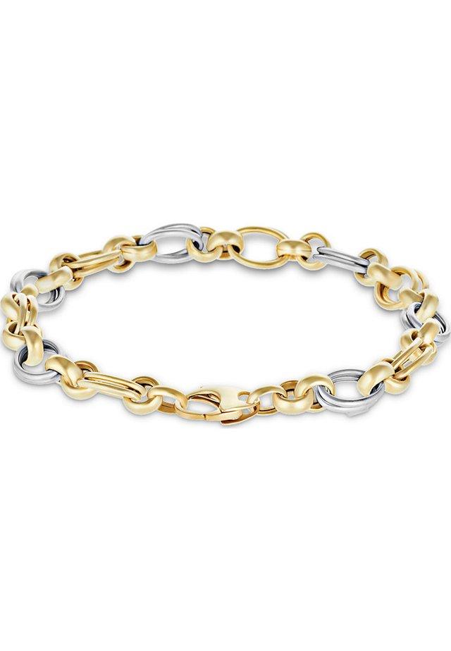 Armband - bicolor/gold/silber