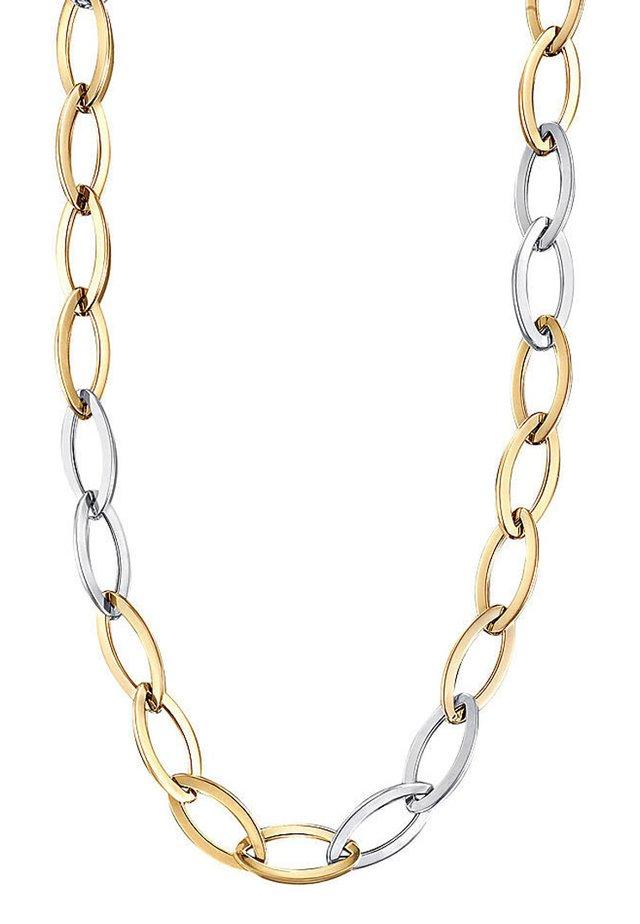 Halskette - bicolor/gold