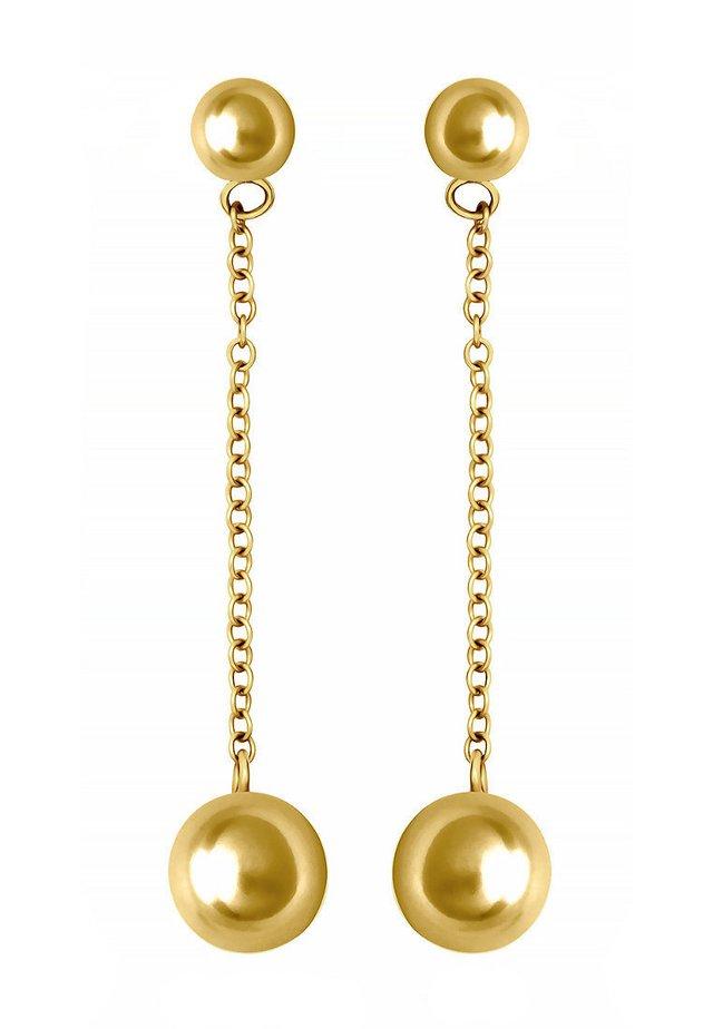 Ohrringe - gelbgold
