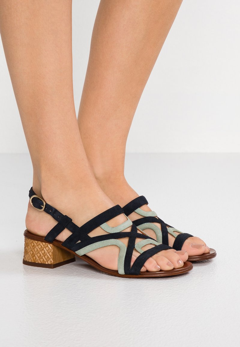 Chie Mihara - QUESADA - Sandals - pizarra/salvia
