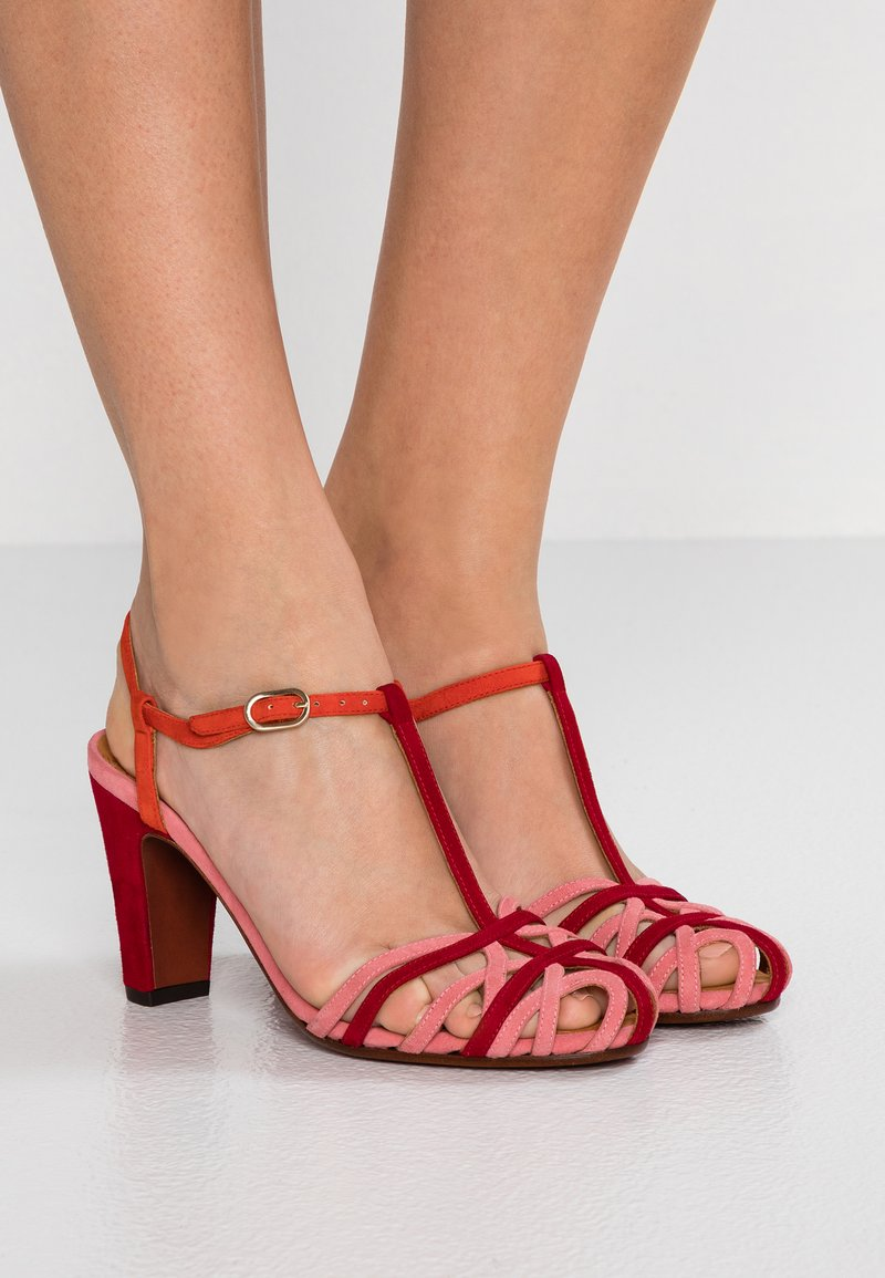 Chie Mihara - KU-QUENU - High heeled sandals - cherry/rojo/russo