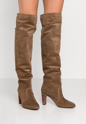 ENJI - Over-the-knee boots - west topo