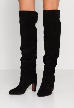 ENJI - Over-the-knee boots - black