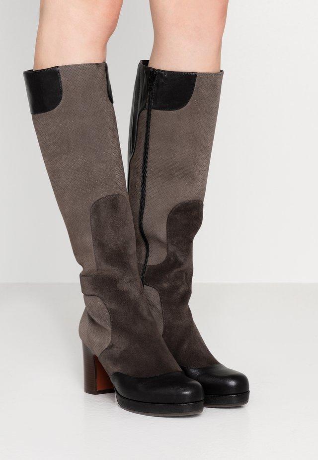 ALIA - Platform boots - multicolor