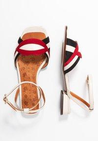Chie Mihara - TIMAI - Sandals - rojo/freya leche/shaddai oro - 3