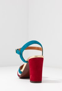Chie Mihara - BATILO - Sandály na vysokém podpatku - rojo/freya leche/blue/shaddai oro - 5