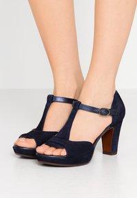 Chie Mihara - EMUS - High heeled sandals - nuit/posh navy - 0