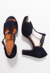 Chie Mihara - EMUS - High heeled sandals - nuit/posh navy - 3