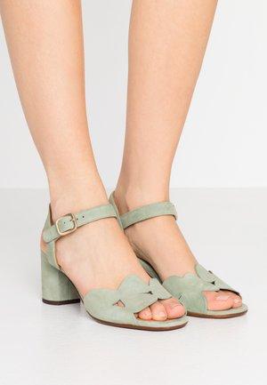 LORAN - Sandals - salvia