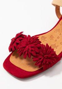 Chie Mihara - TALIS - Sandals - rojo/cherry/peach - 2