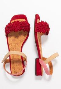 Chie Mihara - TALIS - Sandals - rojo/cherry/peach - 3