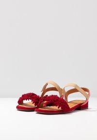 Chie Mihara - TALIS - Sandals - rojo/cherry/peach - 4