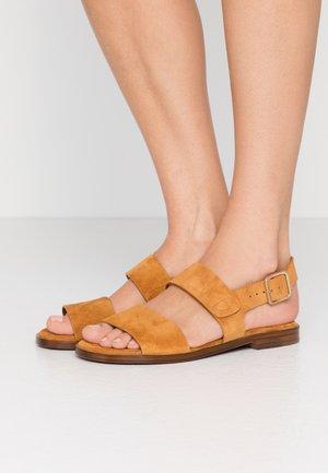WADEL - Sandals - cognac