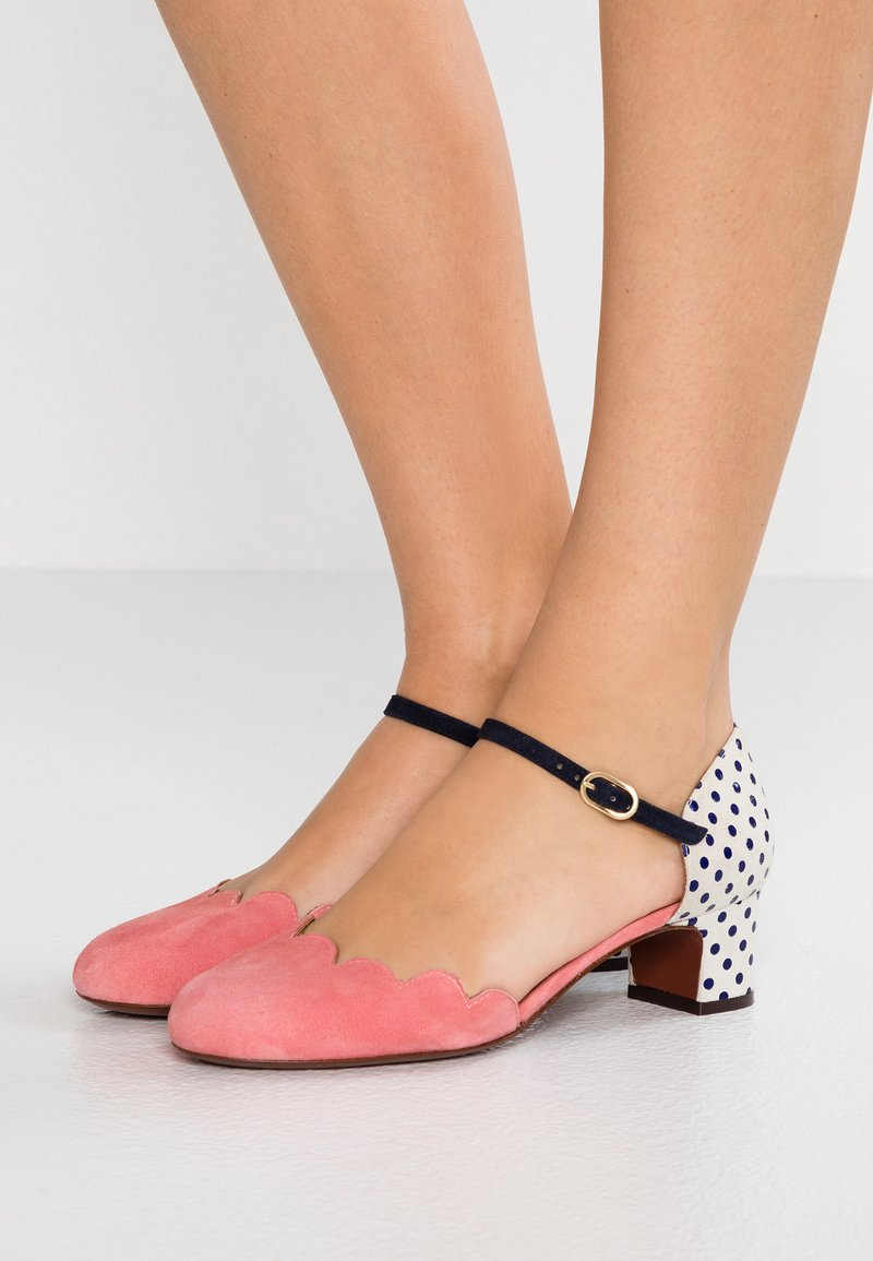 Chie Mihara - UKUMA - Classic heels - cherry/blue/nuit