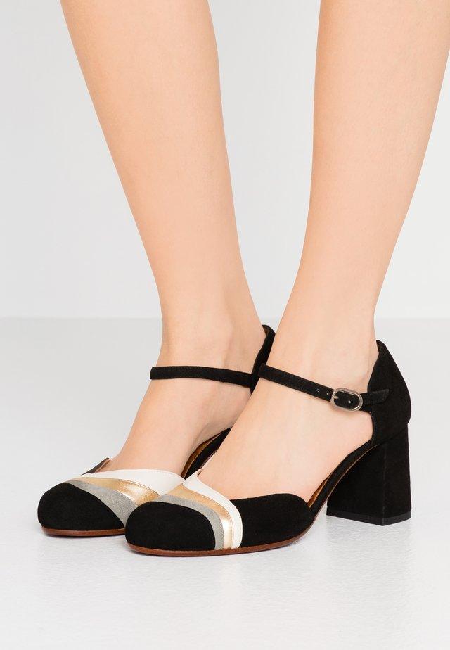 MOKU - Classic heels - cement/shaddai oro/freya leche