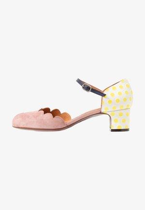 Classic heels - vintage/sun/navy