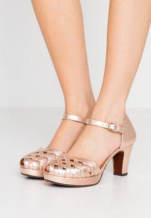 IRMA - Platform heels - shaddai nude
