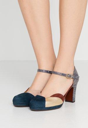 JAMEL - Classic heels - indigo/oro/terra/peach/blue