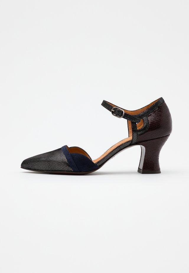 VUTIN - Classic heels - noche/grape