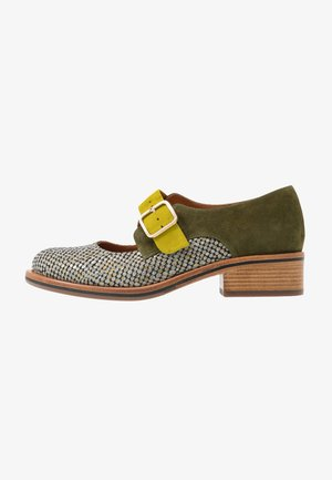 YUMMY - Slipper - dias gold/khaki/curry
