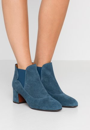 NINO - Boots à talons - galaxy denim
