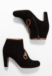 Chie Mihara - KOSPI - Boots à talons - black/picasso bronce - 3