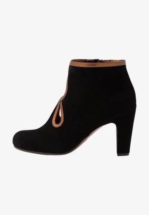 KOSPI - Ankle boots - black/picasso bronce