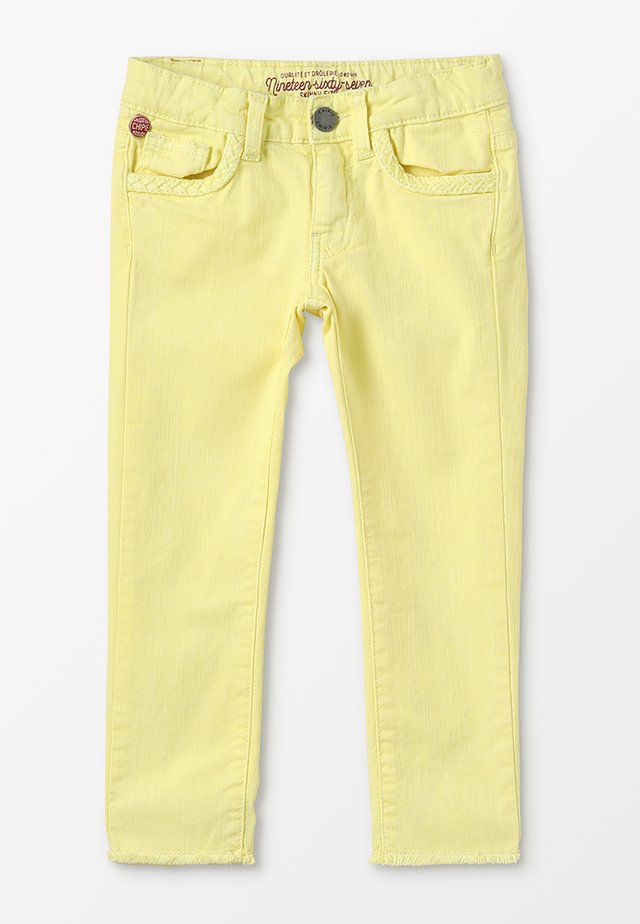 JEAN - Jeansy Skinny Fit - jaune clair