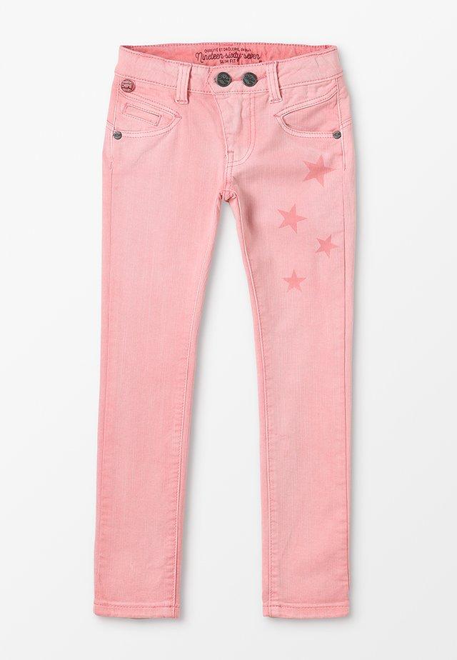 JEAN - Jeans Skinny Fit - corail