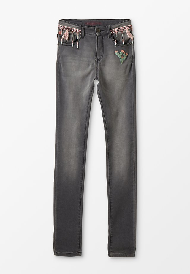 JEAN - Slim fit jeans - gris clair