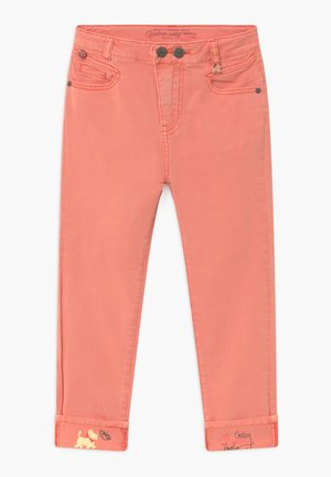 JEAN COULEUR - Slim fit jeans - coral