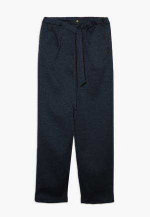 TROUSERS CAROTT - Pantalon classique - midnight blue