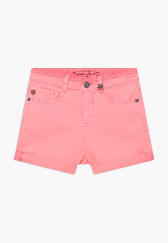Denim shorts - rosa mexica