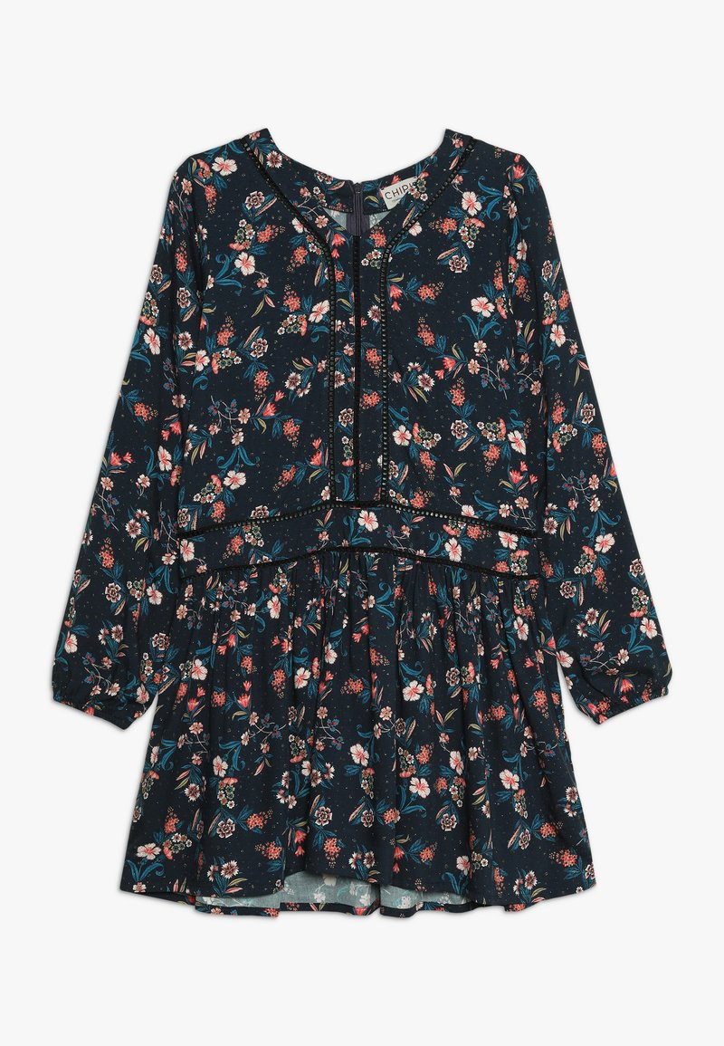 Chipie - DRESS PRINTED - Day dress - midnight blue