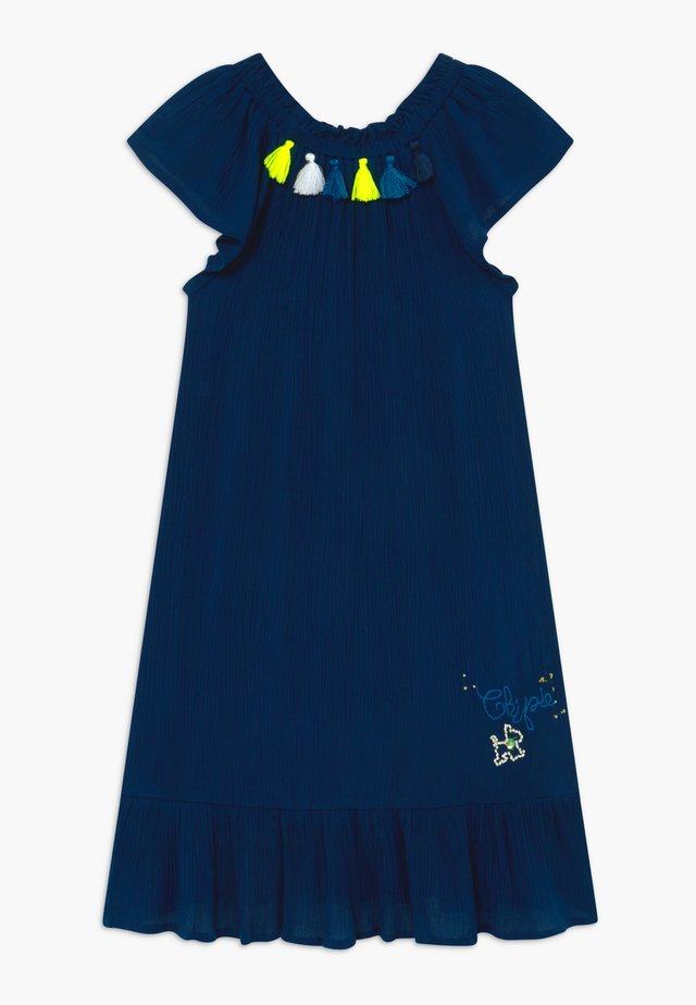 ROBE À MANCHES - Day dress - bleu navy