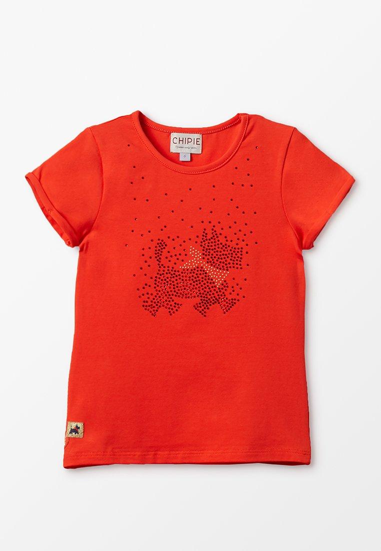 Chipie - T-Shirt print - coquelicot
