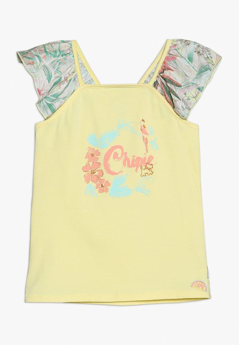 Chipie - Camiseta estampada - jaune clair