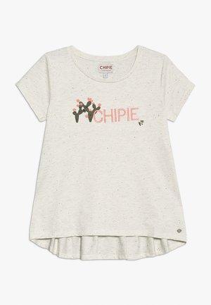 TEE  - Camiseta estampada - ivoire