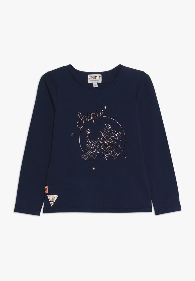 TEE LONG SLEEVES - Langarmshirt - navy blue