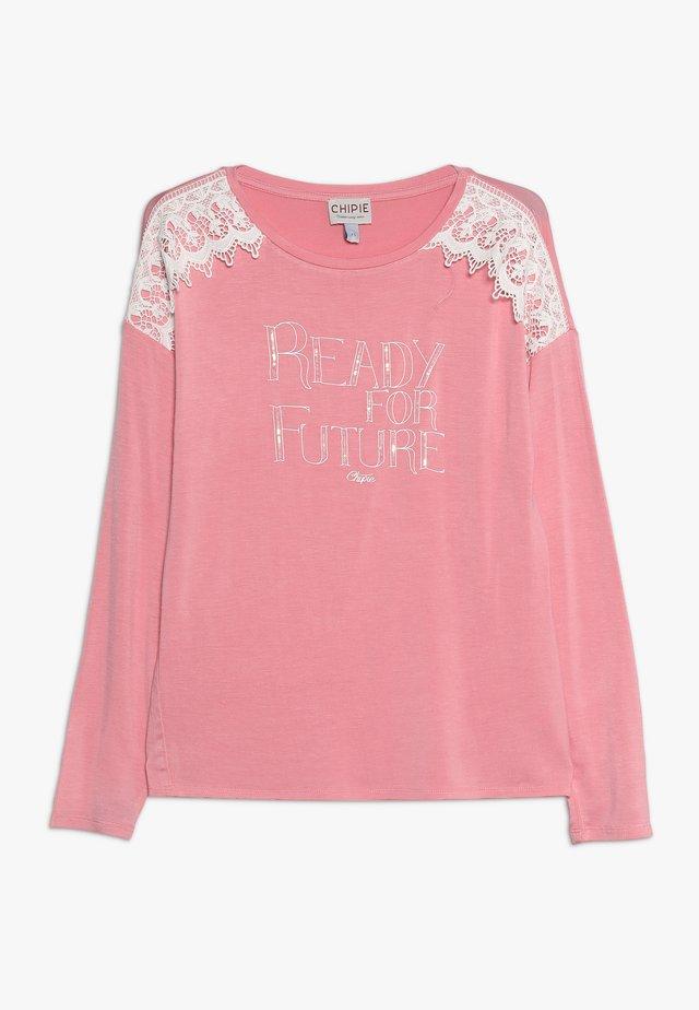 T-shirt à manches longues - peach