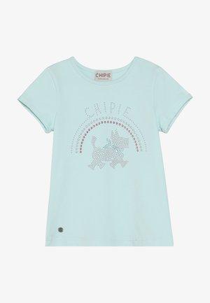 Print T-shirt - lagune