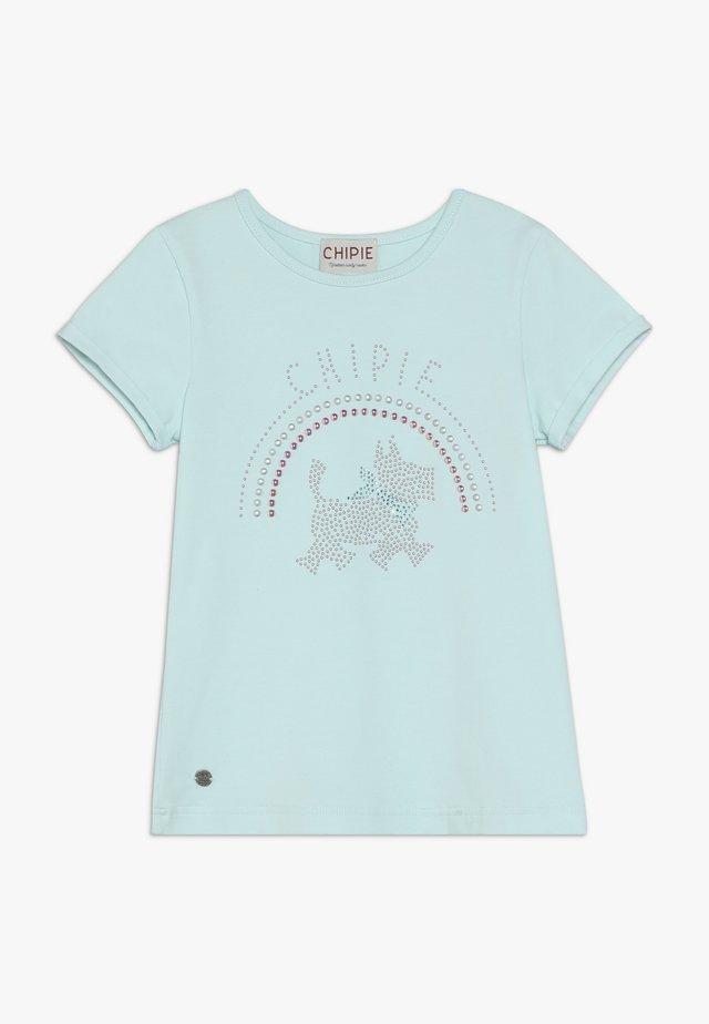 T-shirt print - lagune
