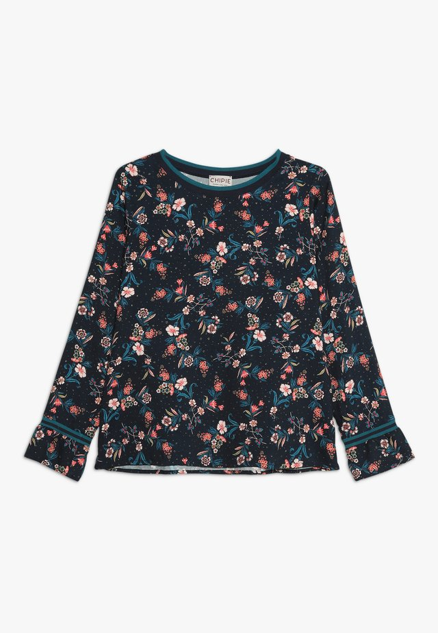 TUNIC PRINTED - Blouse - midnight blue