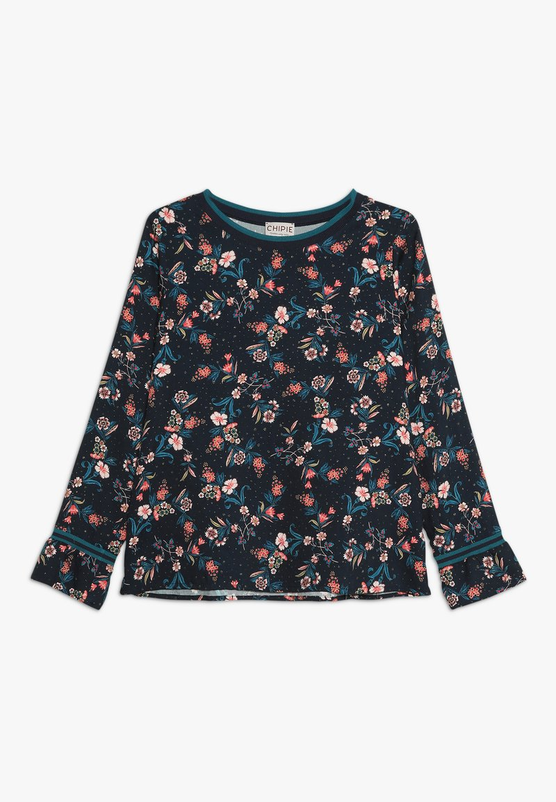 Chipie - TUNIC PRINTED - Blouse - midnight blue