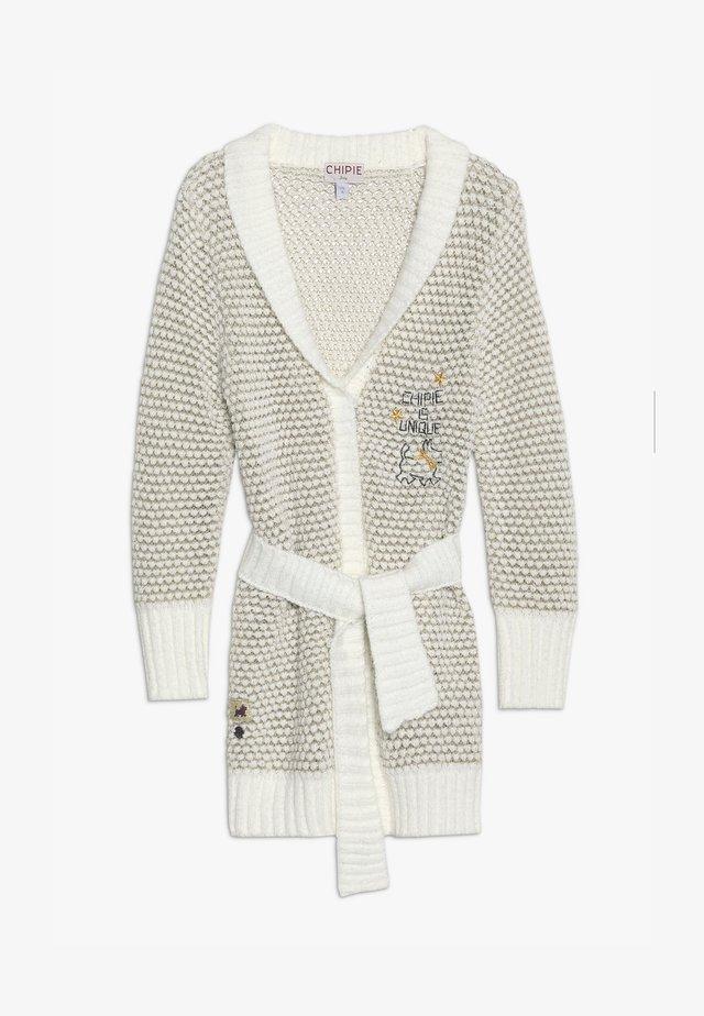 GILET LONG - Cardigan - off white
