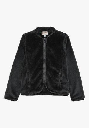 Fleece jacket - charcoal grey