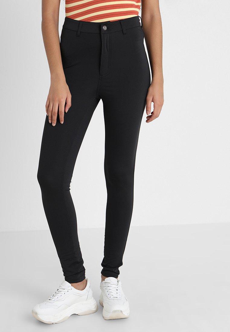 Cheap Monday - HIGH SPRAY  - Pantaloni - black