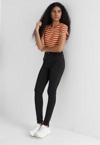 Cheap Monday - HIGH SPRAY  - Pantaloni - black - 1