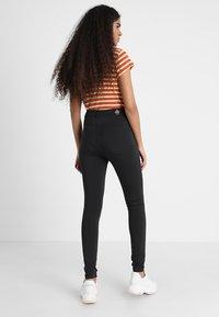 Cheap Monday - HIGH SPRAY  - Pantaloni - black - 2