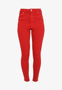 Cheap Monday - HIGH SKIN - Pantaloni - fiction red - 4